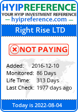 hyipreference.com - hyip right rise