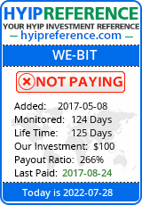 hyipreference.com - hyip we bit ltd