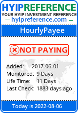 hyipreference.com - hyip hourly payee