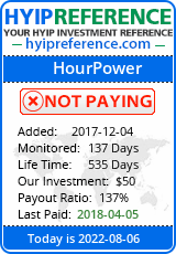 hyipreference.com - hyip hour power