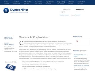 hyip program CryptcoMiner