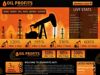 hyip program OilProfits