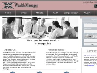 hyip program Wealth Manager